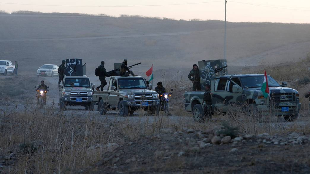 البنتاغون يقول إن القوات العراقية حققت اهدافها في اليوم الاول من عملية تحرير الموصل