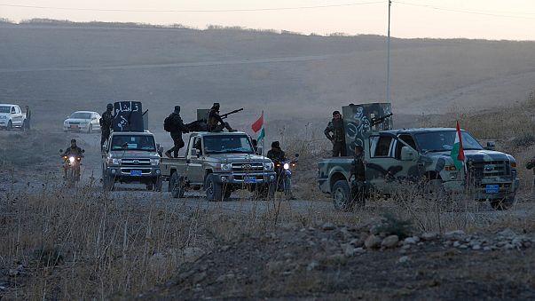 Iraqi troops advance on Mosul