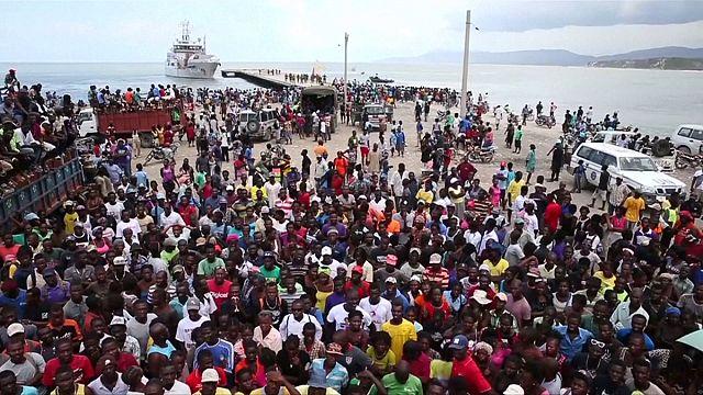 Haiti: Schiff mit Hilfsgütern kehrt wieder um