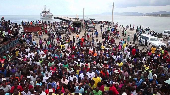 Comienza a llegar la ayuda humanitaria a Haití tras ser devastado por el huracán Matthew