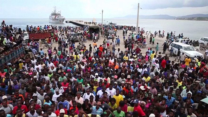 سفينة مساعدات هولندية تغادر هايتي دون إفراغ حمولتها