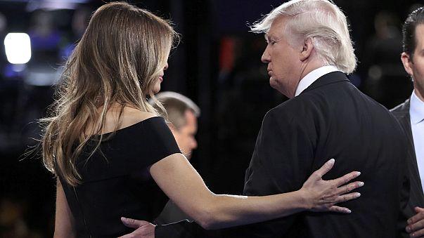 Megvédte férjét Melania Trump