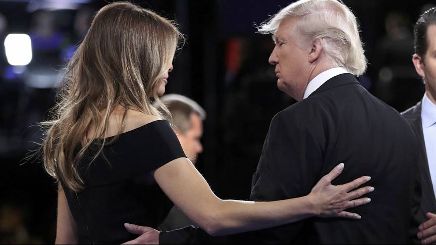 "ميلانيا ترامب ""تغفر"" لزوجها خطاياه"