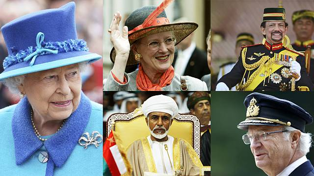 The world's longest-reigning monarchs