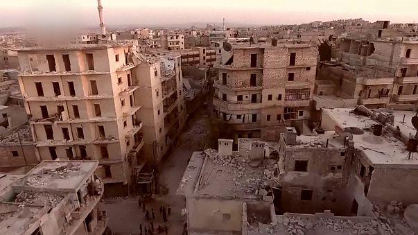 Aleppo: Russland stoppt Feuer früher als gedacht
