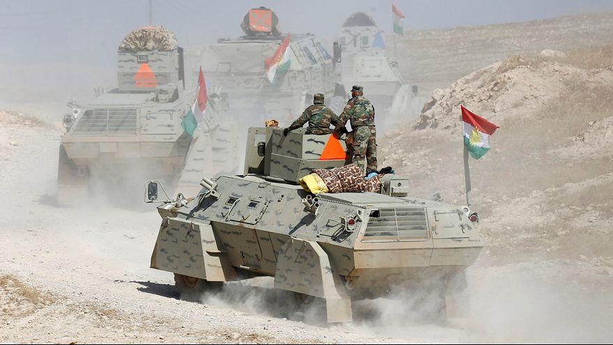 Las fuerzas iraquíes aprietan el cerco alrededor de Mosul