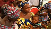 Nigeria: Chibok families reunited with 21 girls kidnapped by Boko Haram [no comment]