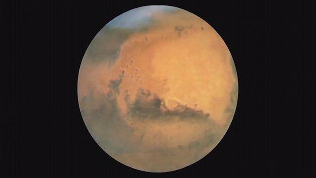 İnsanoğlu bir kez daha Mars'ta