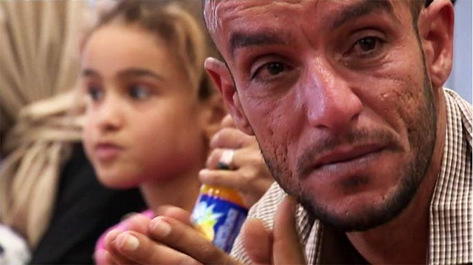 Egy iraki család menekülése Moszulból