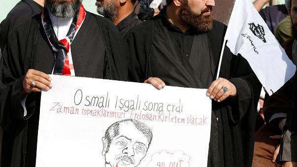 Bağdat'ta Şiilerden Türkiye karşıtı gösteri