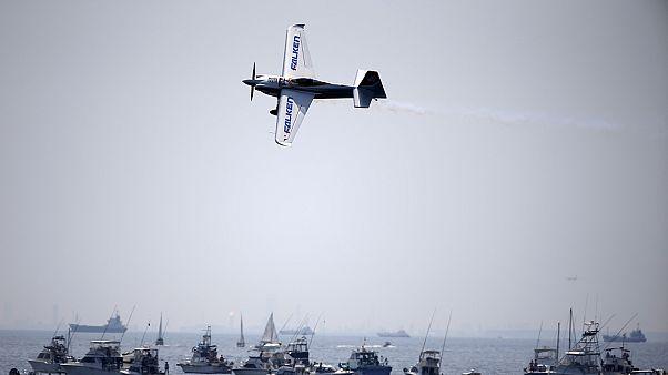 Matthias Dolderer é o campeão do mundo de acrobacias aéreas