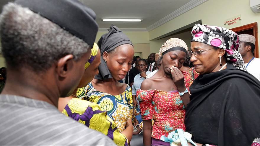 Parents of Chibok girls freed by Boko Haram appeal to Nigerian government