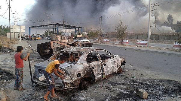 سكان الموصل بين مطرقة داعش وسندان معركة التحرير