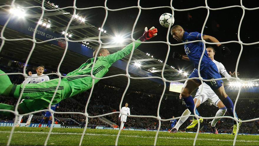 Champions League: Leicester City edge out FC Copenhagen, Spurs draw