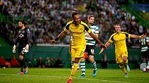 UCL round up: Aubameyang and Mahrez on target, Madrid wins big, Buffon stars