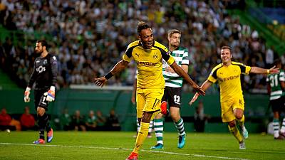 UCL round up: Aubameyang and Mahrez on target, Madrid wins big, Buffon stars