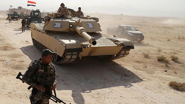 Sprengfallen und Minenfelder lähmen Vormarsch auf Mossul
