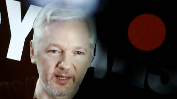 Ecuador says it cut Julian Assange's internet access