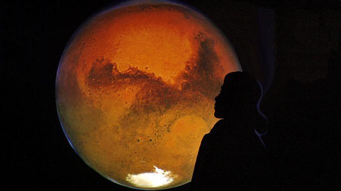 El módulo Schiaparelli aterriza hoy en la superficie de Marte