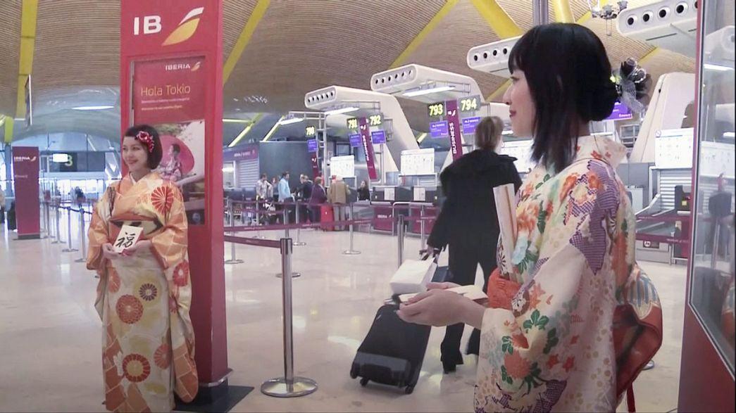 Reprise des vols directs entre le Japon et l'Espagne