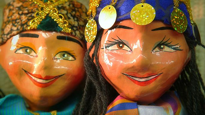Postcards from Uzbekistan: the tradition of Khiva puppets