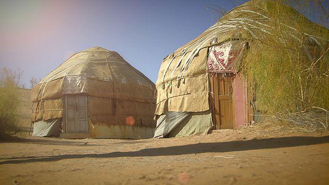 """Una notte in una tenda """"yurta"""""""