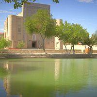 کارت پستال از ازبکستان؛ «لب حوض» در بخارا