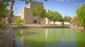 L'oasis de Lyabi-Khauz à Boukhara