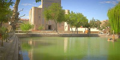 Postcards from Uzbekistan: the Lyabi-Hauz complex