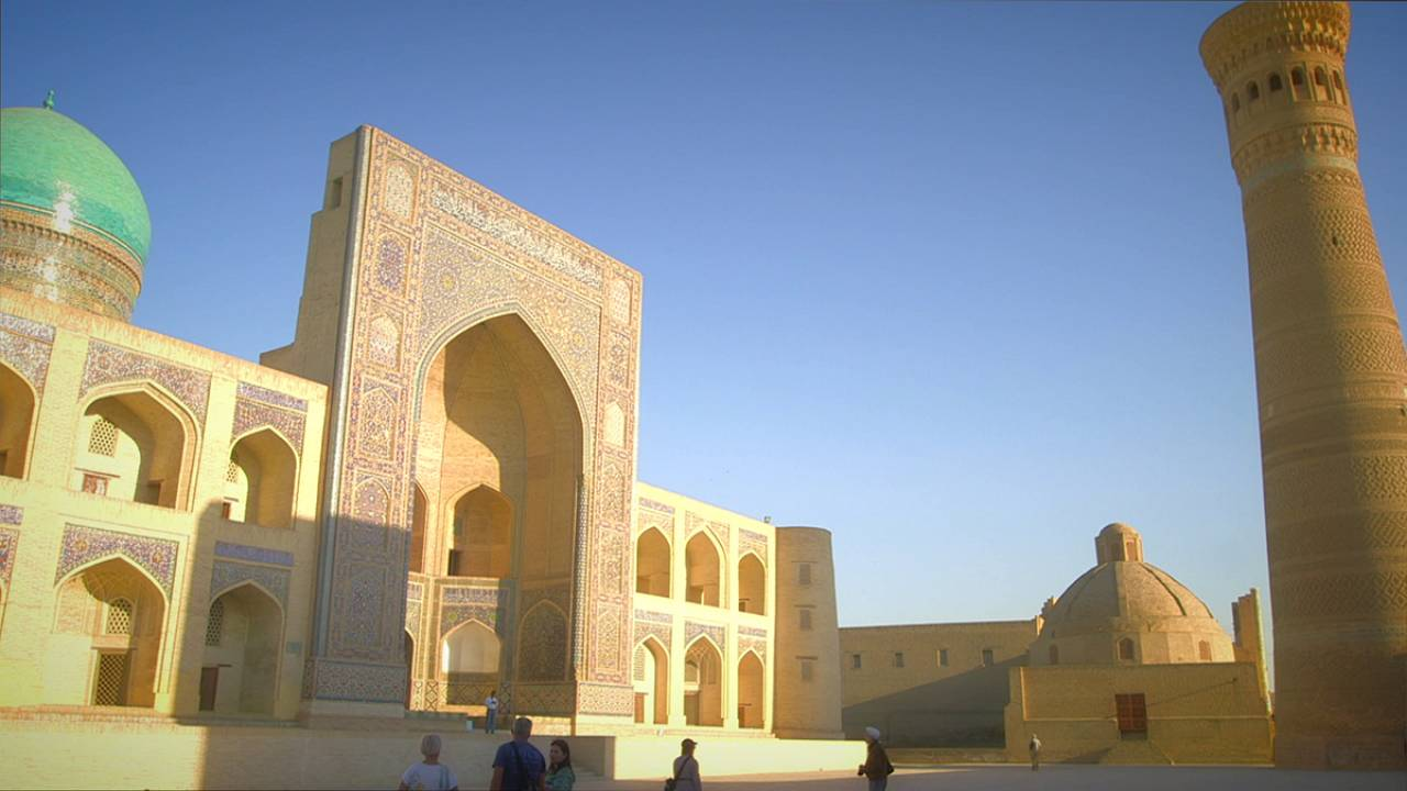 Postcards from Uzbekistan: the Poi-Kalyan complex