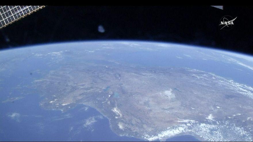 Die Erde aus Sicht des Weltalls