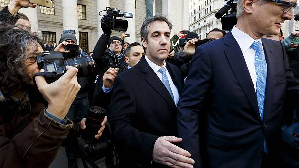 Michael Cohen leaves Federal District Court after pleading guilty to charge