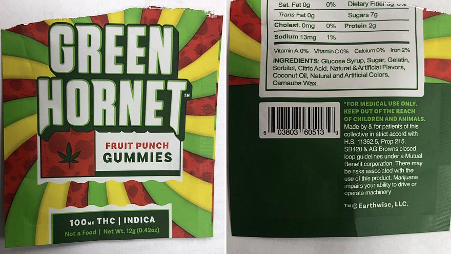 At least 5 middle school students taken to hospital after eating marijuana-laced gummy bears
