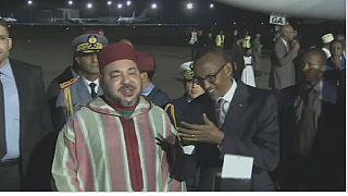 King Mohammed VI visits Rwanda