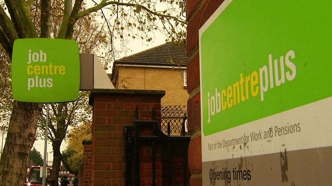 GB : léger ralentissement de l'emploi