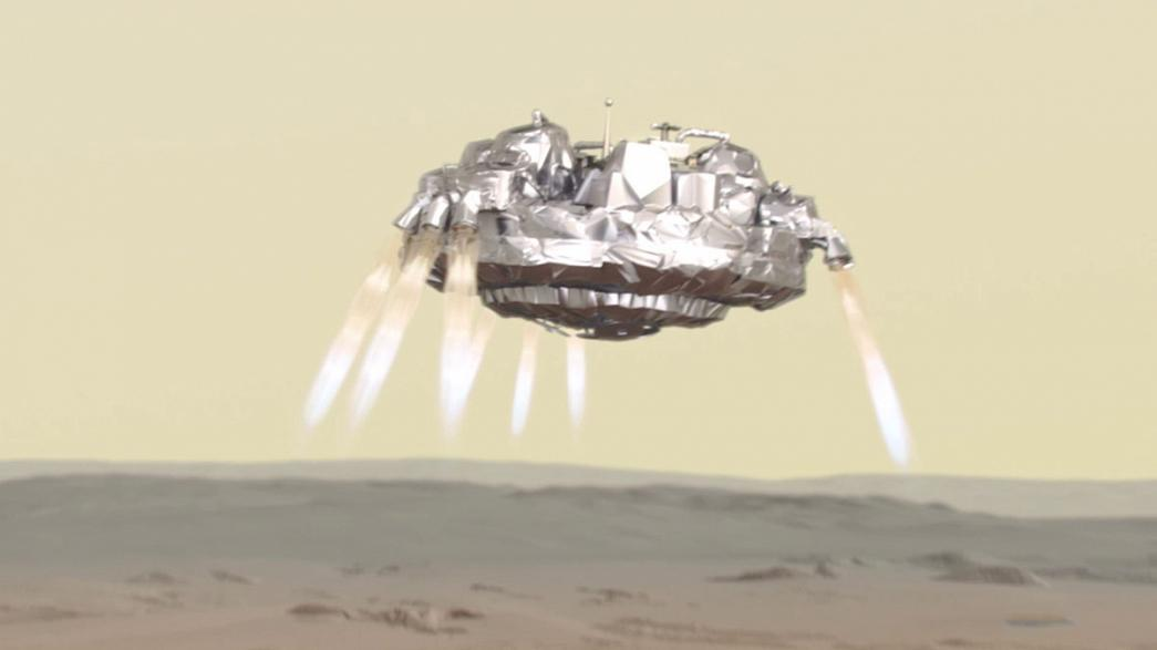 La sonda Schiaparelli aterriza en Marte
