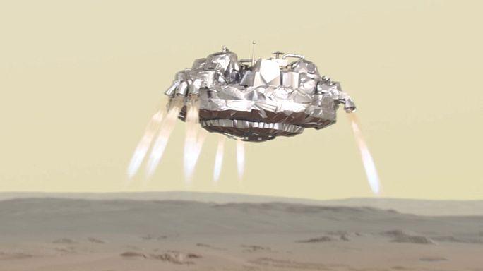 500.000.000 km im All: einmal von der Erde zum Mars
