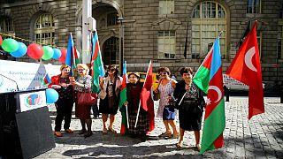 Azerbaycan bağımsızlık günü New York'ta kutlandı