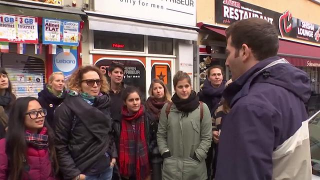 Views of Berlin - from a Syrian tour guide