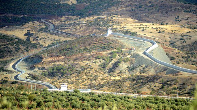 Suriye sınırına örülen duvar Kilis'e ulaştı