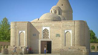 Postcards from Uzbekistan: the Chashma Ayub mausoleum