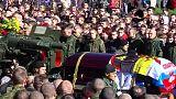 Russischer Separatistenkommandeur in Donezk beigesetzt