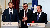 """Париж призывает к продлению """"гуманитарной паузы"""", принимая у себя """"Белые каски"""""""