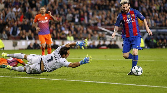 Champions: Napoli ko col Besiktas, il Barcellona ne fa 4 al City