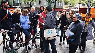 Des réfugiés en guise de guide pour visiter Berlin
