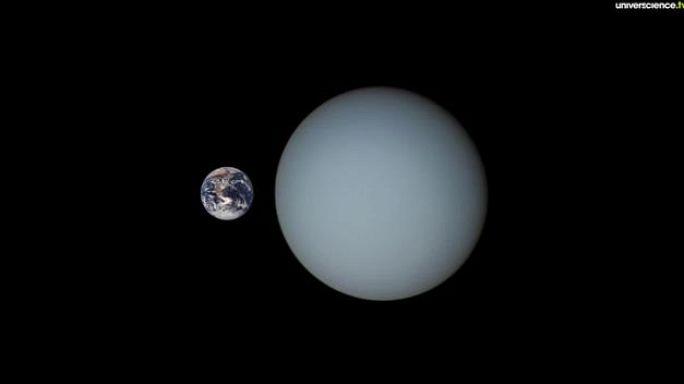 La pleine Lune et Uranus
