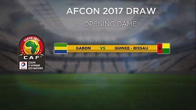 CAN 2017 : le Gabon et la Guinée-Bissau ouvriront le bal