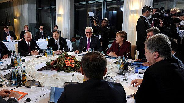 Berliner Ukraine-Gipfel will Friedensfahrplan für die Ost-Ukraine
