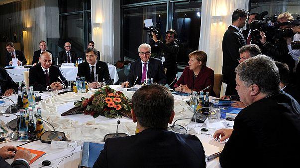 مجموعة نورماندي تتفق على وضع خارطة طريق لتنفيذ اتفاق مينسك