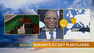 Burundi : le retrait de la CPI critiqué [The Morning Call]